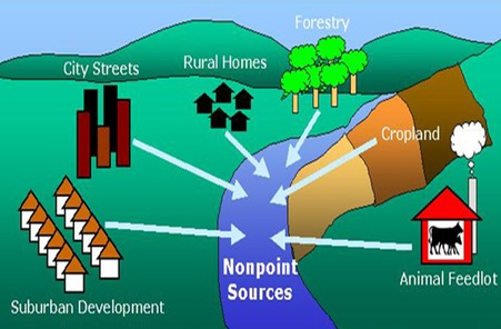 Sources of Nonpoint Source Pollution